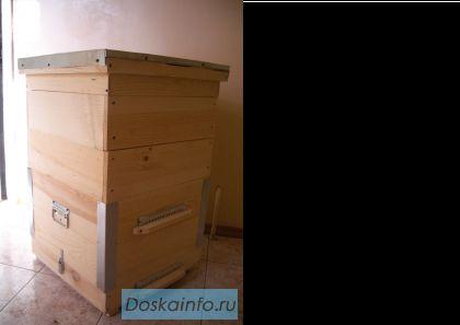 Продам Дадановские улья 12-и рамочные в сборе, крыша обита оцинкованным железом оптом и в розницу, возможно...